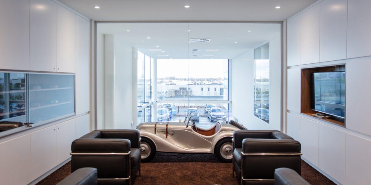 BMW Waver: Een werf met de voet op het gaspedaal