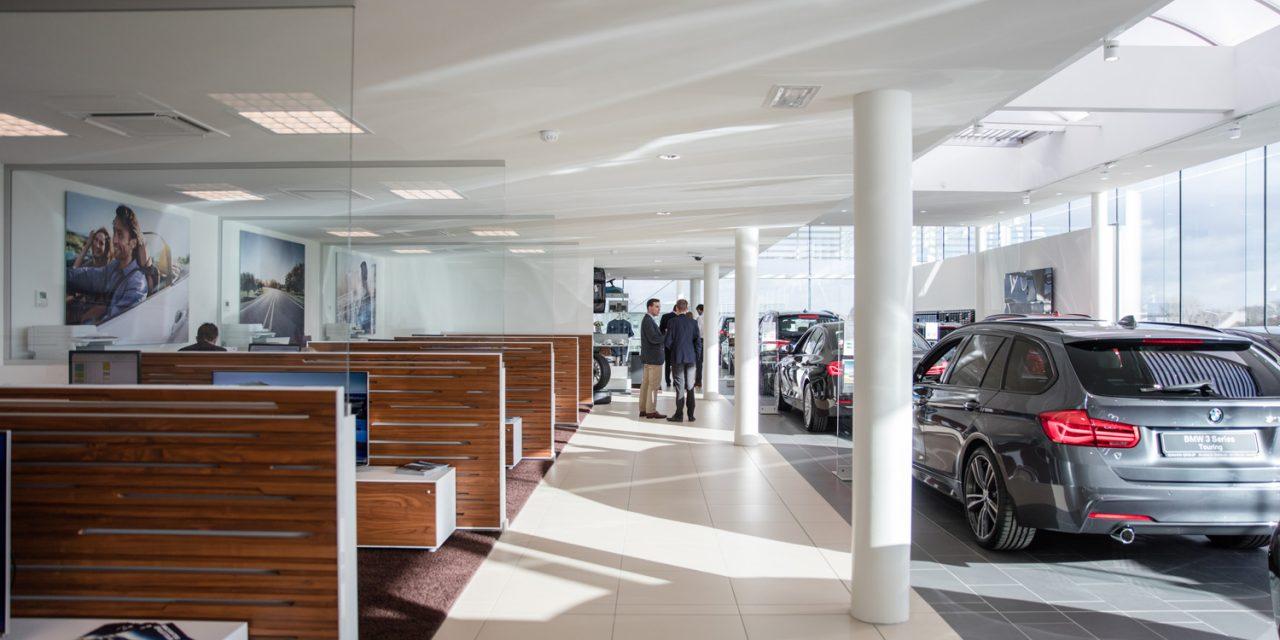 BMW Wavre : un chantier pied au plancher