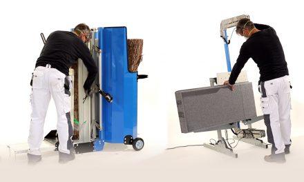 Knauf lance des machines révolutionnaires pour la découpe de matériaux isolants