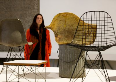 17.--The-World-of-Charles-and-Ray-Eames,-Barbican-Art-Gallery.-Photo-Tristan-Fewings_Getty-Images