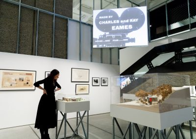9.The-World-of-Charles-and-Ray-Eames,-Barbican-Art-Gallery.-Photo-Tristan-Fewings_Getty-Images