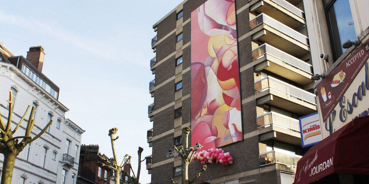 Bottazzi apporte une touche rose pastel à Etterbeek