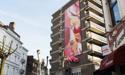 Bottazzi kleurt Etterbeek pastelroze