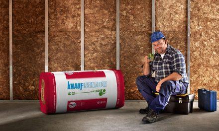 Knauf Insulation pakt uit met nieuwe generatie minerale wol MW 35