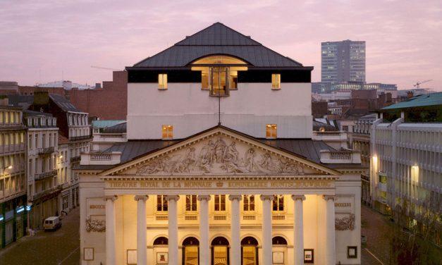 Grand projet: le Théâtre de la Monnaie, Bruxelles