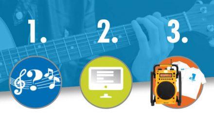 Quizz Musical – Concours Octobre 2017