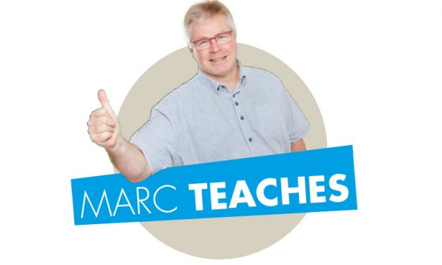 Didactische expertise – Marc teaches