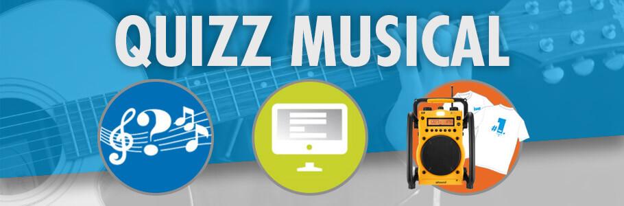 Concours Quizz Musical Octobre 2017