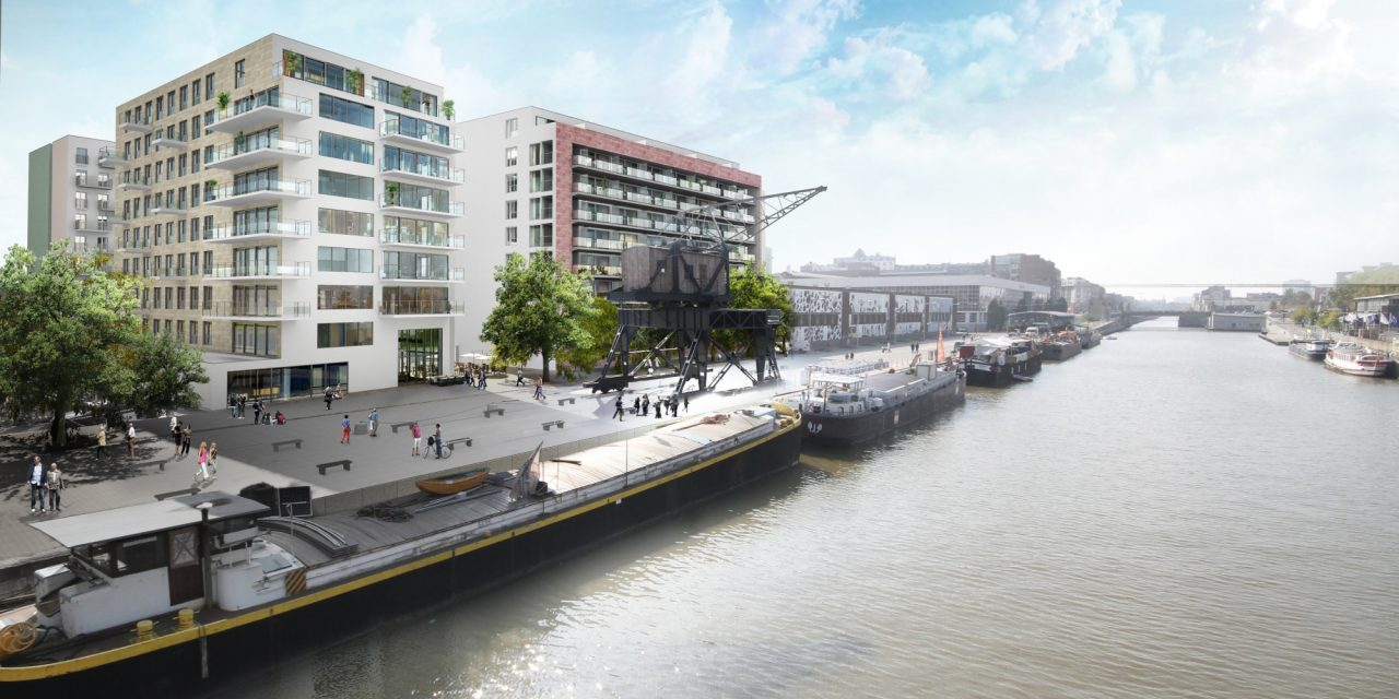 Grand projet: Canal Wharf – Bruxelles