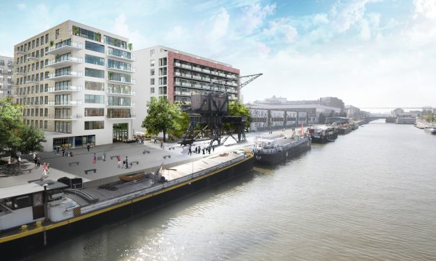 Groot project : Canal Wharf – Brussel