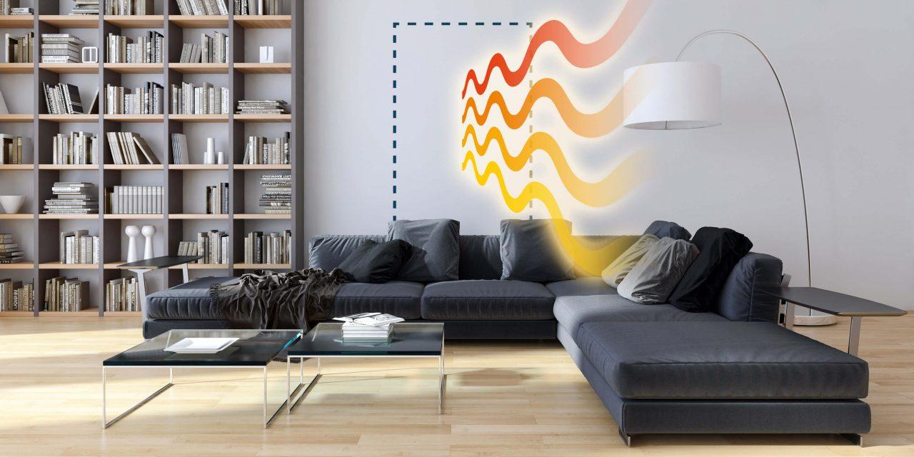 CaloriK Board: la plaque de plâtre chauffante