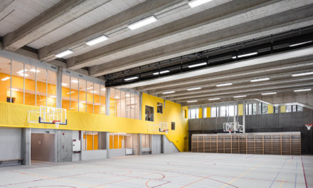 Knauf assure la nécessaire correction acoustique des nouvelles écoles Charmille et Schuman
